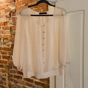 Sheer The Limited blouse